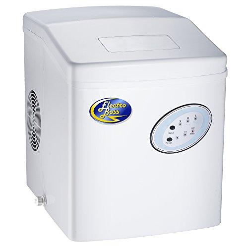 Ice Boss Portable 33 Lb Ice Maker Finish: White