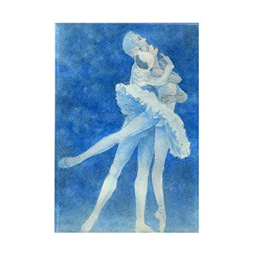 CafePress - Swan Lake Ballet Rectangle Magnet - Rectangle Magnet 2x3 Refrigerator Magnet