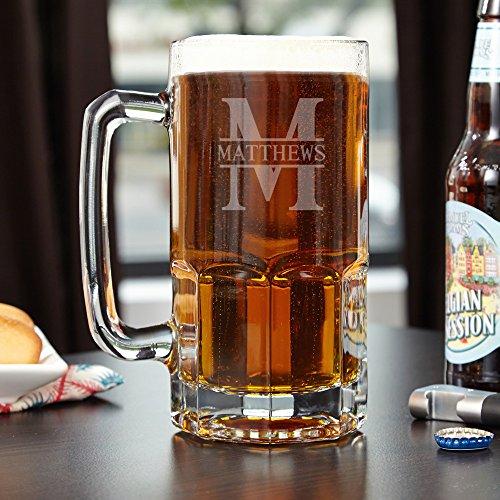 Colossal Oakmont Personalized Beer Mug Customizable Product