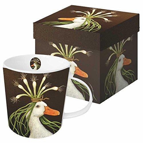 Paperproducts Design Gift Boxed Porcelain Mug 135 oz Vicki Sawyer-Miranda Goose Multicolor