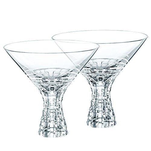 Nachtmann Dancing Stars Bossa Nova Martini Glasses Set of 2