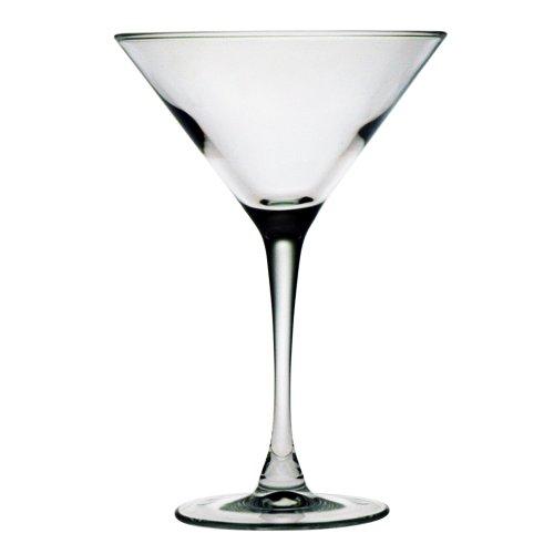 Susquehanna Glass Martini Glasses Set of 4 75 Ounces