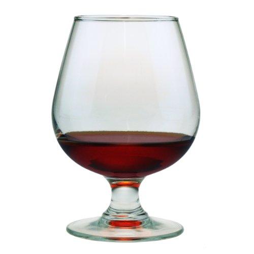 Susquehanna Glass Brandy Snifter Glasses Set of 4 12 ounces
