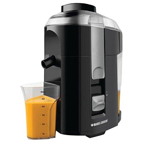 Black Decker Fruit Vegetable Juice Extractor Je2200 400 Watt Juicer Black