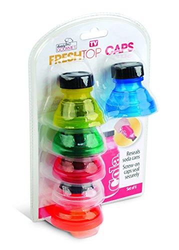 Handy Gourmet Set of 6 Fresh Top Caps