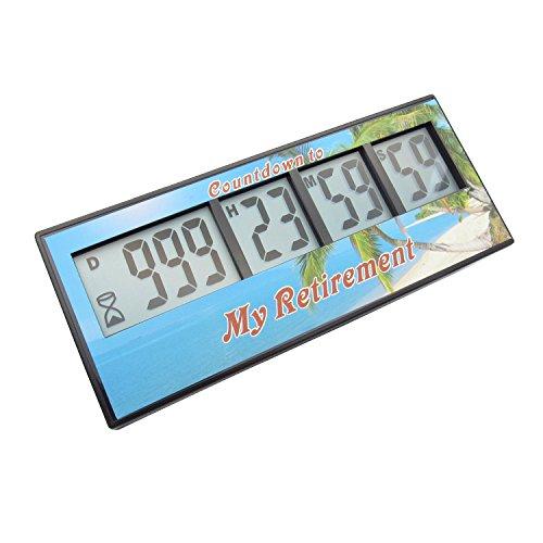 Digital Retirement Countdown Timer - AIMILAR 999 Days Count Down Timer  3-Year Warranty