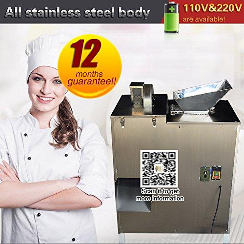 YOLI Small automatic Dough Divider machineCommercial bread steamed stuffed bun dumpling dough Cutting machinedough machine100kgh 110V60HZ