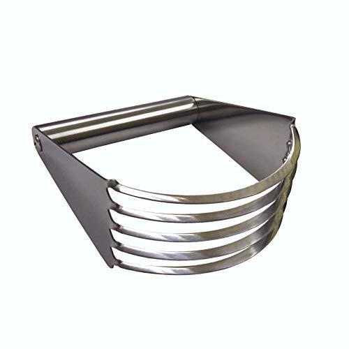 FixtureDisplays Stainless Steel Pastry Blender Dough Cutter Flour Mixer - Pasta Pie Crust Cake 15015-2D