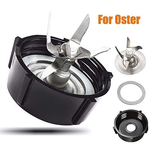 Walmeck- Parts for Oster Osterizer Blender Cutter Blade Base Cap Gasket