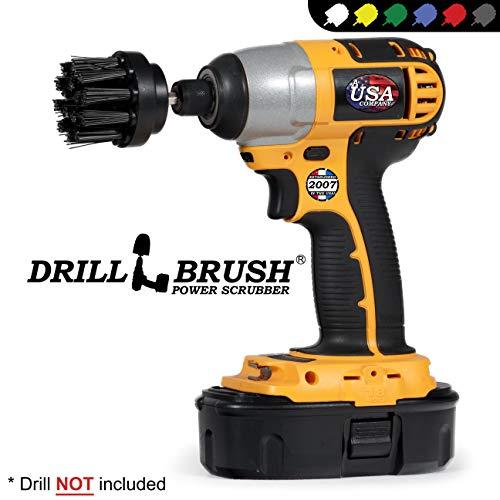 BBQ Accessories - Grill Brush - Ultra Stiff Bristle - Scrub Brush - Gas Grill - Electric Smoker - Propane Grill - Rust Remover - BBQ Brush - Baked-On Food - Grease - Grill Scraper - Graffiti Remover
