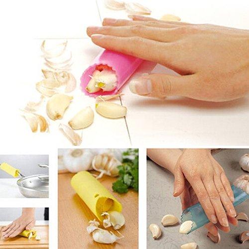 CONSTR -Creative Silicone Peeling Garlic Peeler Helper Useful Kitchen Tool Gadgets