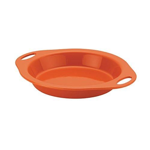 Rachael Ray Stoneware 9-Inch Pie Baker Orange