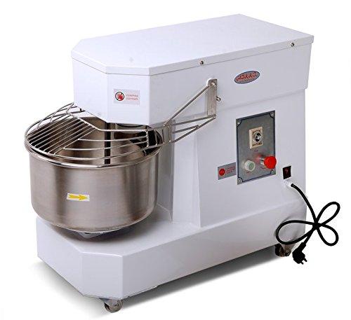 Hakka Commercial Dough Mixers 10 Quart Stainless Steel Spiral Mixers DN10