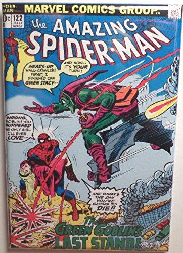Amazing Spider-Man 122 MAGNET 2 x 3 Fridge Locker Spiderman Green Goblin