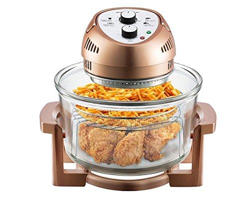 Big Boss Oil-less Air Fryer 16 Quart 1300 watt Limited Edition Copper