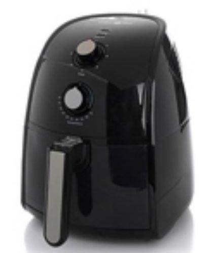 Simply Ming The Healthy Fry Ceramic Nonstick 1500-Watt Air Fryer - Black