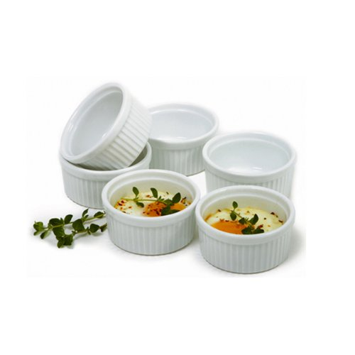 Norpro 258 Porcelain 3-ounce Ramekins, Set Of 6