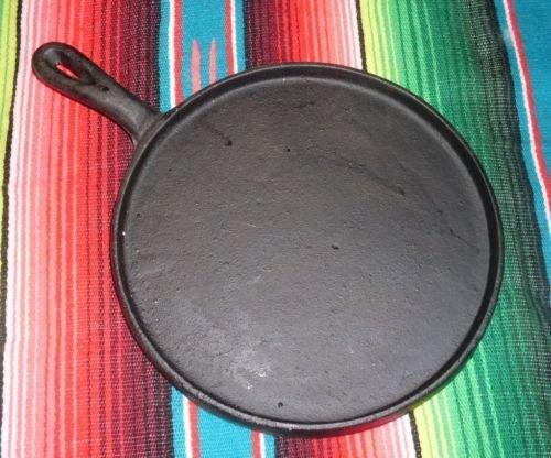 Oro Import Cast Iron Flat Griddle Comal Tortilla Fajita 10