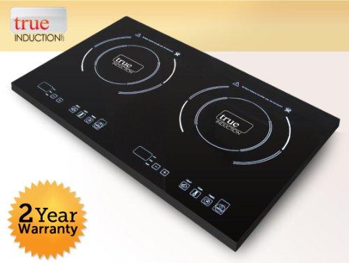 True Induction TI-2C Cooktop Double Burner Energy Efficient