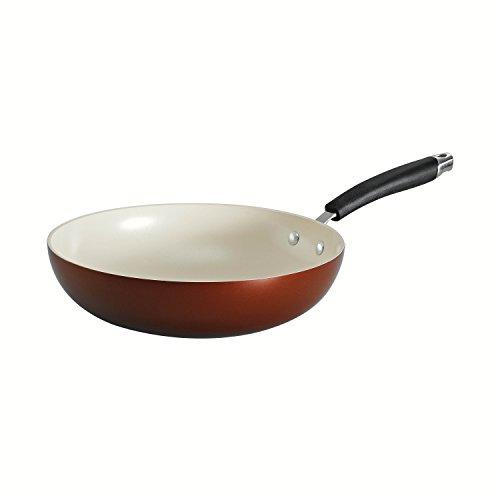 Tramontina 80110/046ds Style Ceramica 01 Stir Fry Pan, 11-inch, Metallic Copper