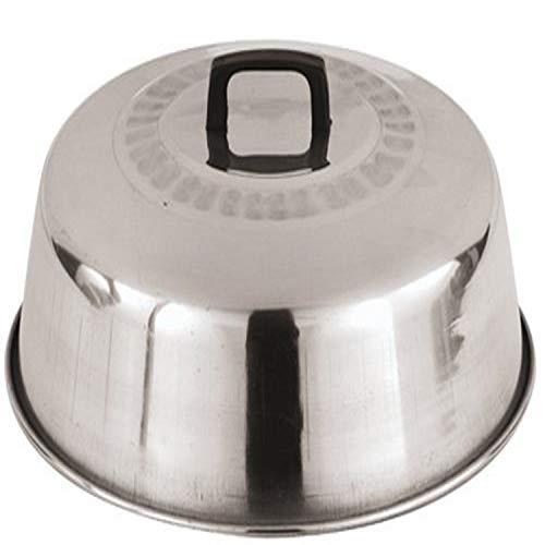 Paderno World Cuisine 12-12-Inch Aluminum Wok Lid