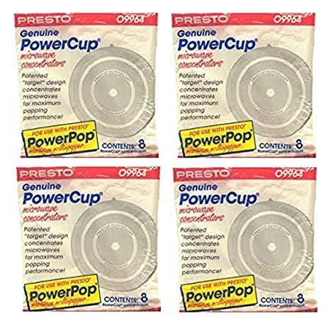 32 Presto Genuine Powercup Power Cup Microwave Popcorn Popper Concentrator-0wbr9964