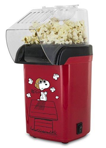 Smart Planet OPP‐1SPP Peanuts Snoopy Popcorn Air Popper Red