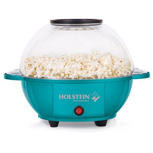 Holstein Housewares HU-09009E-M Kettle Popcorn Maker - Teal