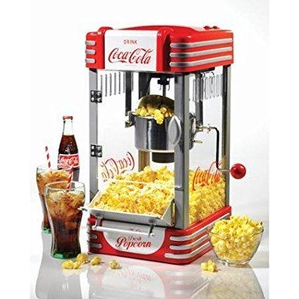 Nostalgia Electrics Coca-Cola Series Kettle Popcorn Maker RKP630COKE by Supernon