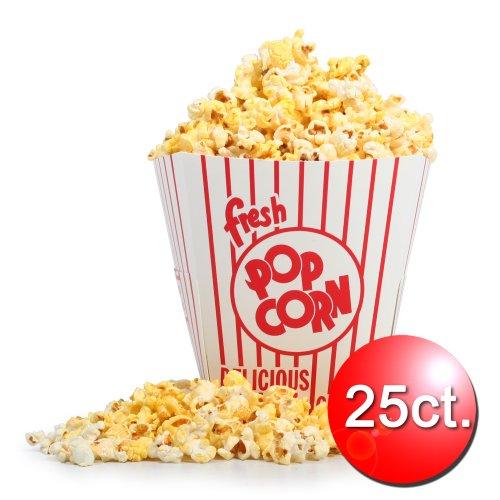 85 oz Open Top Movie Theater Popcorn Bucket 25 Count