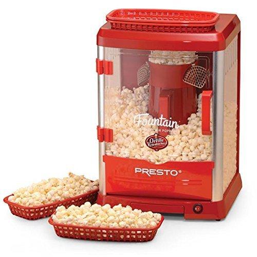 Presto Orville Redenbachers Fountain Theater Popcorn Popper
