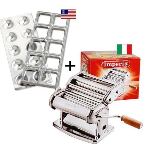 Imperia Pasta Machine With Ravioli Mold Bestseller Set