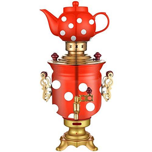 Russian Modern Electric Samovar Teapot Set Art Design Tea Kettle Teakettle