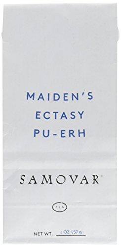 Samovar Tea Lounge Maidens Ecstasy Pu-Erh Tea Organic 2 Ounce