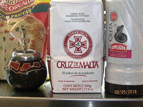 Cruz De Malta Yerba Mate 1kg - 22lbs