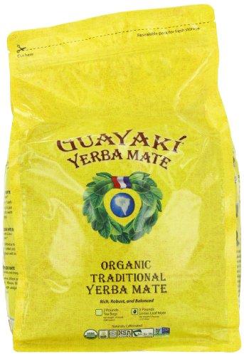 Guayaki Traditional Yerba Mate Tea 5 Pound
