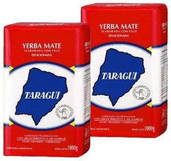 Taragui Yerba Mate Con Palo 22lbs 2pack