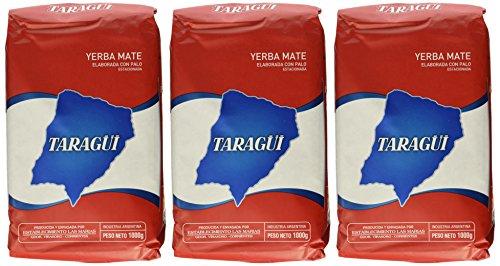 Yerba Mate Taragui - 3 bags of 22 Lbs each