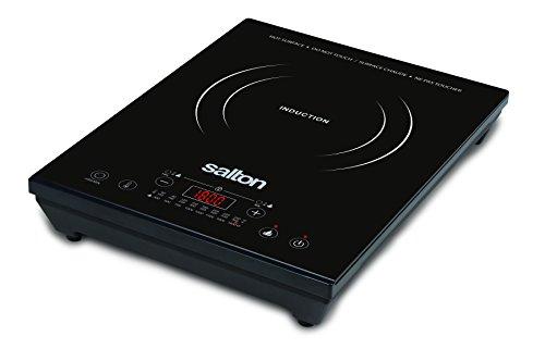 Salton ID1350 Portable Induction Cooktop Black