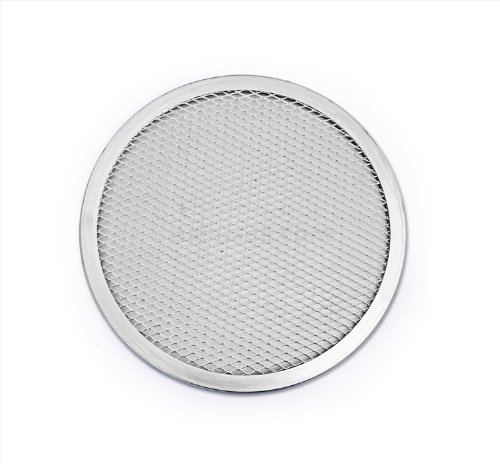 New Star Foodservice 50059 Pizza  Baking Screen Seamless Commercial Grade Aluminum 18 inch Pack of 12