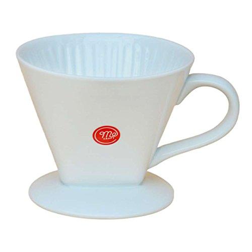 Mecraft White Ceramic Pour Over Coffee DripperSingle-Serving BrewingGiftbox