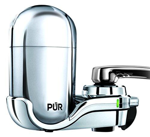 PUR Advanced Faucet Water Filter Chrome FM-3700B