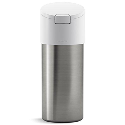 KOHLER Kitchen Disinfecting Wipes Dispenser Stainless Steel White