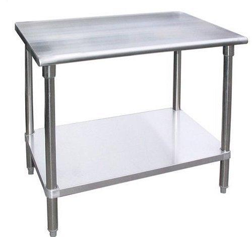 WORKTABLE Food Prep Workt able Restaurant Supply Stainless Steel 30 X 36