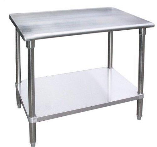 Work Table - Stainless Steel Food Prep Worktable 24 x 36 Height is 34 NSF Certified