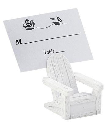 Beach Place Card Holders - Adirondack Chairs 72