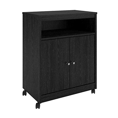 Ameriwood Home Landry Microwave Cart Black Oak