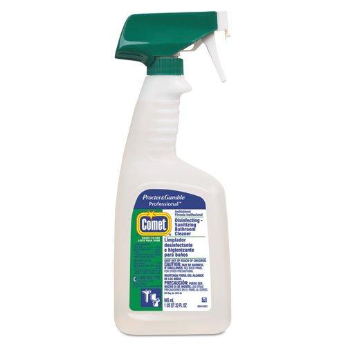 Comet Disinfecting-Sanitizing Bathroom Cleaner 32 Oz Trigger Bottle