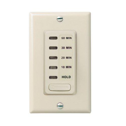 Intermatic EI210LA 10203060 Electronic In-Wall Countdown 1800-Watt Timer Light Almond
