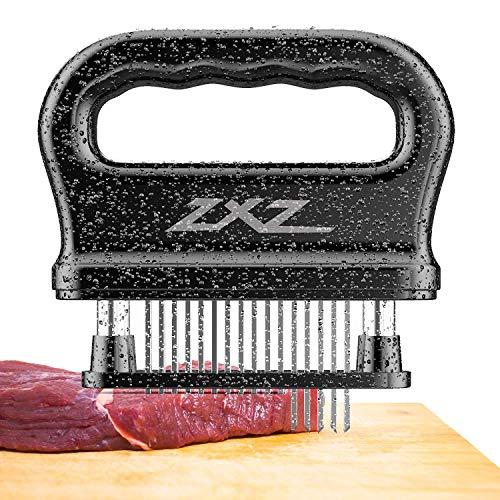 Meat Tenderizer 48 Stainless Steel Sharp Needle Blade Heavy Duty Cooking Tool for Tenderizing Beef Turkey Chicken Steak Veal Pork Fish Christmas Cooking Set